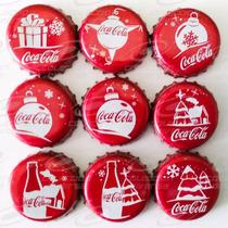 * Set De Corcholatas Coca Cola Navidad 2015