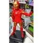 Adorno Para Torta De Iron Man En Porcelana Fria