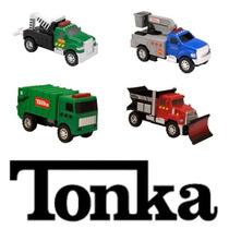 Tonka Vehiculos De Construccion Set De 4. Luces Y Sonidos!!!