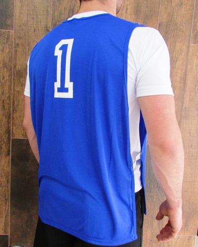 Jogo De Colete De Futebol Dry Fit Numerado - R  177 01c91c18a5fd1