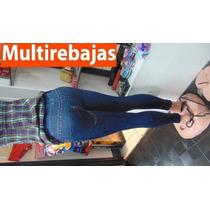 Pantalon Leggins Levantacola S M L En Forma De Jeans****