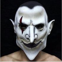 Máscara Para Festas Látex Coringa Branca - Pronta Entrega