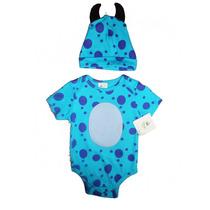 Pañalero Disfraz Bebe Sulley Monsters Inc * Disney Baby *