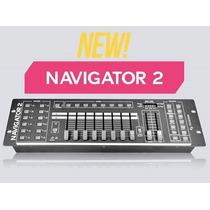 Consola Dmx Navigator 2 De American Pro Oferta Imperdible