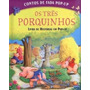 Livro Infantil Contos De Fada Pop Up - Os Três Porquinhos