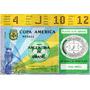 Entrada Copa America Año 1983 Argentina Vs Brasil
