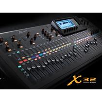 Mesa Digital Behringer X32 - 16 Aux. X-32 C/n.f.e Garantia.