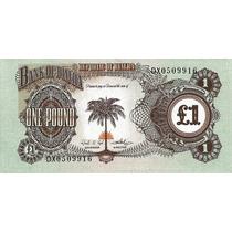 Grr-billete De Biafra 1 Pound 1967