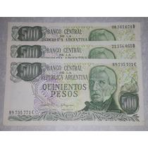 Billete 500 Pesos Argentina - Cada Uno *085