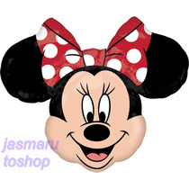6 Globos Metalico 14 Pulg Minnie Mouse R Para Arreglo D Mesa