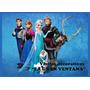 Sticker Decorativo Frozen Vinil De 1m X 0.6m Delivery Gratis