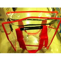 Bolsa Sacola Plástica Transparente Cristal 34*23cm, Tam.p