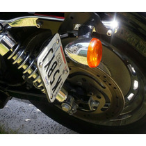 Portaplacas Lateral Harley Sportster