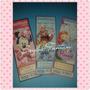 Invitaciones Infantiles Tipo Ticket Y Postal