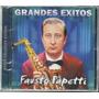 Fausto Papetti. Grandes Éxitos. Cd Original Nuevo