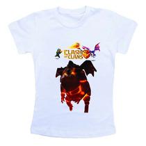 Camiseta Infantil Personalizada - Clash Of Clans Ref775