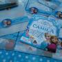 Frozen Una Aventura Congelada - Tarjeta De Invitación