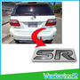 Calcomania Sr Toyota Fortuner Marca 3m