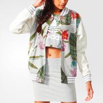 Adidas Originals College Jacket Campera Universitaria Flores