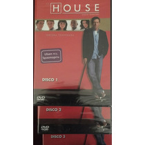 House, Serie Tv, Temporadas 2 Y 3 Dvd, Español, Nuevos