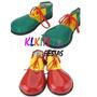 Sapato De Palhaço Fantasia Festa Cosplay