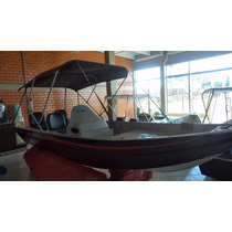 Casco Lancha De Alumínio 5m Fortboat Premium 500 Completa