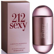 Perfume 212 Vip Dama De Carolina Herrera, Vip Rose, 212 Sexy