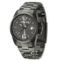 Relógio Police Lancer Preto Pulseira Em Aço Pl12591jvsbu/61m