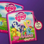My Little Pony - Tarjeta De Invitación Con Solapa.