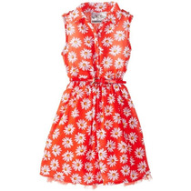 Espectacular Vestido Casual Para Niñas Talla 5