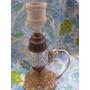 Mundo Vintage: Antiguo Lampara Bronce Cristal Swich Bhx
