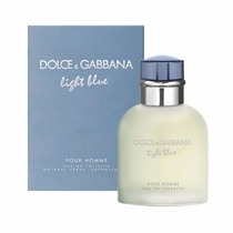 Perfume Original Dolce & Gabbana Light Blue Caballero 125 Ml