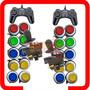 Kit Arcade 2 Comandos 20 Botoes 2 Controles Usb Pacotão Flip