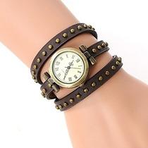 Remate_relojes Con Tachas Vintage S/. 12.50_oferta