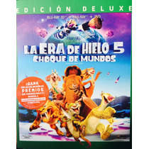 La Era De Hielo 5 Bluray 3d + Bluray + Dvd