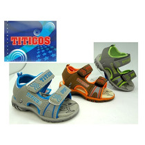 Sandalia, Zapato Verano Niño Suela Gamuza - Talles 19 Al 24