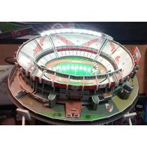 Maqueta Estadios 3d !! River El Monumental!! Con Luces Led!!