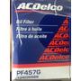 Filtro De Aceite Acdelco Original Chevrolet Orlando Astra 2.