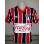 Camisa Retrô São Paulo 1989 Listrada - Pronta Entrega