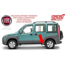 Moldura Estribo Traseiro Fiat Doblo Adventure Motorista