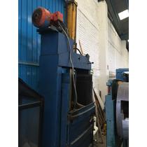 Compactadora Vertical Para Cartón Corrugado, Pet, Plástico
