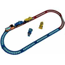 Juguete Tren Electrico Construccion Niños Camiones Arma Lego