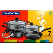 Set Bateria Cocina Ollas Y Sarten Tramontina Versalhes