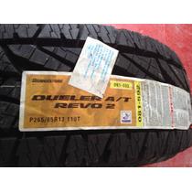 265/65/17 Bridgestone A/t Revo2. Nuevas Y Sin Rodar