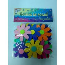 Figuras En Foami Flores