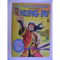 Almanaque Mestre Do Kung Fu Nº 1 Ed. Abril