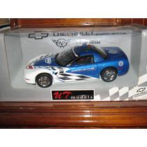 Ut Models 1/18 Chevy Corvette Le Mans 1999 Azul Pace Car!!!