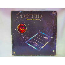 El Arcon Lp Vinilo Supertramp Crimen Del Siglo