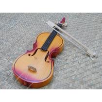 Violin De Madera Juguetes Tipicos Mexicanos, Chico
