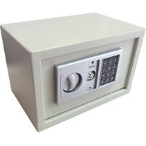 Cofre Digital Com Chave De Segurança 20cm X 31cm X 20cm